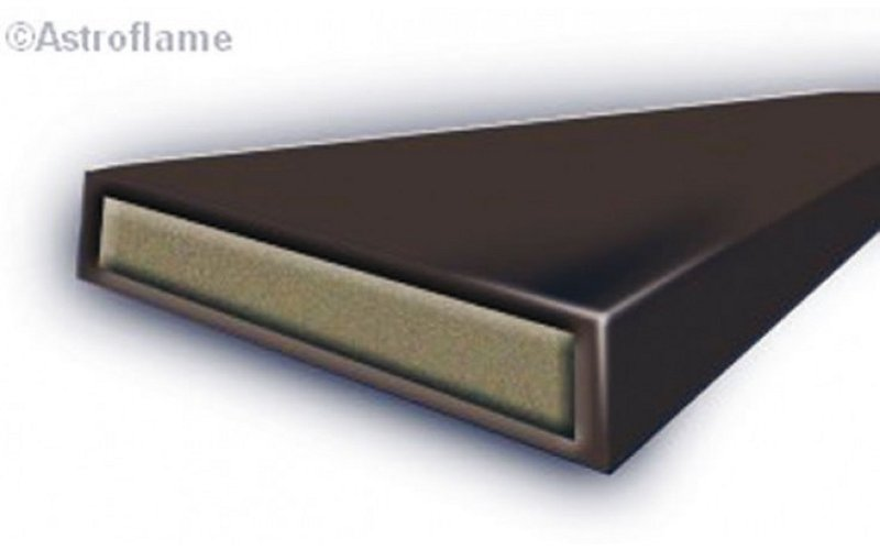 10mm Intumescent fire seal - brown